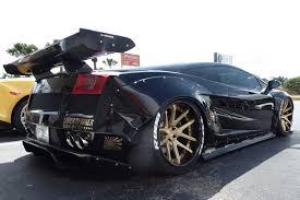 Lamborghini Murcielago Widebody - optimus performance brings lb works gallardo to sema