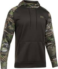 under armour men u0027s armour fleece camo blocked hoodie u0027s