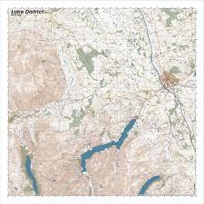 Lake District England Map by North East Lake District Splashmapsplashmaps