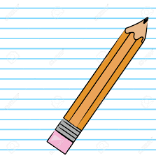 writing on lined paper orange hb pencil on lined paper background vector royalty free orange hb pencil on lined paper background vector stock vector 2704167