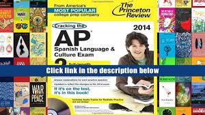 read online cracking the ap spanish language culture exam with