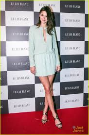 le lis kendall jenner turns heads at le lis blanc winter collection party