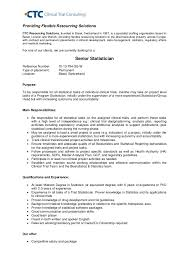 Statistician Resume Sample by Statistician Resume Example Duevia Com