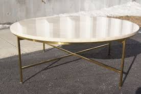 creative round brass coffee table fascinating interior decor
