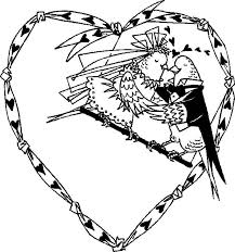 love birds married coloring pages jpg