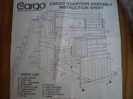 Cargo Bunk Bed Cargo Furniture Garage Sale