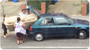 sofa won u0027t fit in car size does matter youtube