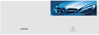 mercedes benz automobile 2007 slk 280 user guide manualsonline com