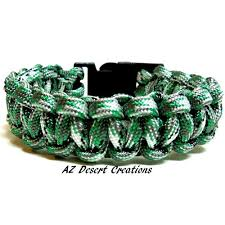 cobra survival bracelet images Green camo survival bracelet solomon knotting paracord bracelet jpg