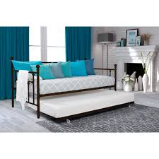 dhp manila twin daybed and trundle multiple colors walmart com