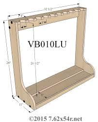 standing gun rack plans google search carpentry pinterest
