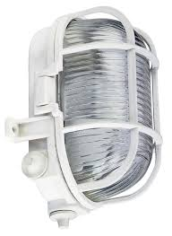 Bulkhead Outdoor Lights Outdoor Oval Bulkhead Security Light Vandal Resistant Ip44 Caged