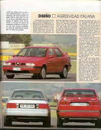 berlinasportivo alfa romeo 155 q4 and sports saloons on the net