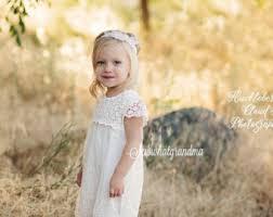 girls cream dress etsy