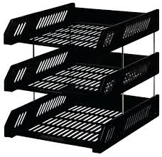 Office Desk Tray Office Desk Office Desk Trays Metal Mesh 3 Tier Document Tray