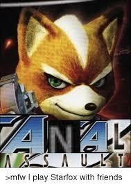 Star Fox Meme - mfw i play starfox with friends dank meme on sizzle