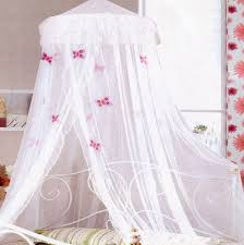 kids girls beds white frill butterflies bed net from kids bedding dreams