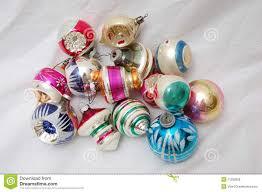 ornaments vintage tree ornaments pile of