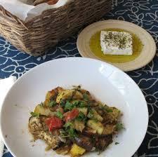 Main Dish Vegetables - greek recipes for summer vegetables