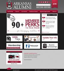 alumni website software imodules software membership of arkansas alumni