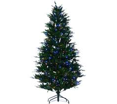 White Christmas Tree With Black Decorations Santa U0027s Best 6 5 U0027 Rgb 2 0 Green Balsam Fir Christmas Tree Page 1