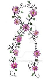 38 best hope tattoo flowers images on pinterest art design