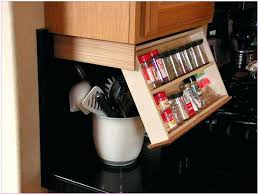 spice cabinets for kitchen under cabinet spice rack organizer racking and shelving ideas under
