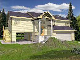 split level garage cowan creek split level home plan 088d 0181 house plans and more