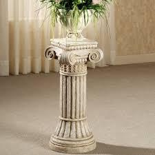 ionic column pedestal pedestal columns and master bedroom