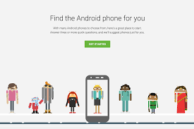 find an android phone s web tool makes it easy to find android phones for you