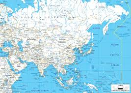 Map Russia Russia Road Map Road Map Russia Eastern Europe Europe