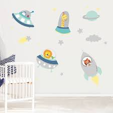 wall stickers space fabric wall stickers download