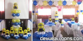 minion baby shower decorations minions theme balloon decoration at tlc 2nd floor cebu