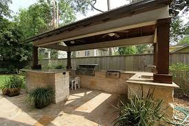 covered outdoor kitchen designs rolitz