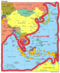China Sea Map by South China Sea Early Thoughts