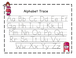 alphabets trace printable worksheets huanyii com