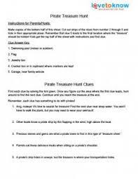 backyard treasure hunt free printable treasure hunt clue sheets
