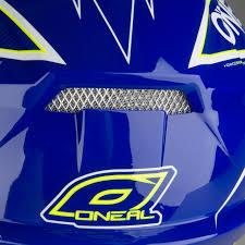 purple motocross helmet o u0027neal 3 series fuel youth motocross helmet blue hi vis quick