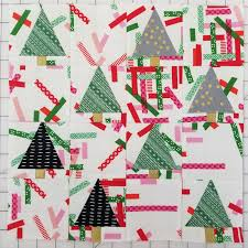 i wish you a merry quilt a long block two real christmas tree