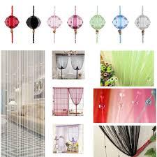 Hippie Beaded Door Curtains Indoor Beaded Curtains For Doorways String Curtain Door Divider