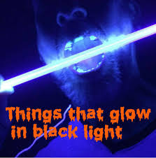 things that will glow in black uv light 7 steps with pictures