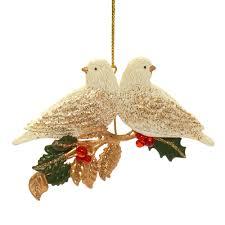 turtle doves christmas tree decoration rspb christmas rspb shop