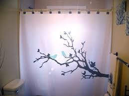 Shower Curtains With Birds Bluebirds Shower Curtain Tree Blue Birds By Customshowercurtains
