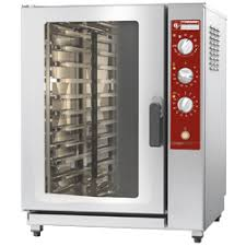 four cuisine professionnel elect heated oven stoom convect 10x gn 1 1