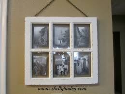 shelly bailey decorating with a white vintage 6 photo frame
