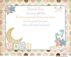 Thank You Cards For Baby Shower Gifts - exciting baby shower thank yous 12 on baby shower cakes with baby