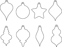 christmas tree decorations clipart black and white clipartxtras