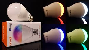 Color Led Light Bulbs by Review Revogi Color Changing Bluetooth Led Smart Bulb 60 Watt