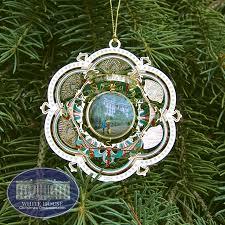 White House Christmas Ornament - 2005 white house james a garfield ornament