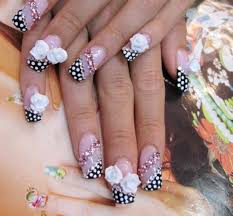 diy easy dot flower nail art for beginners cute daisy nails 100